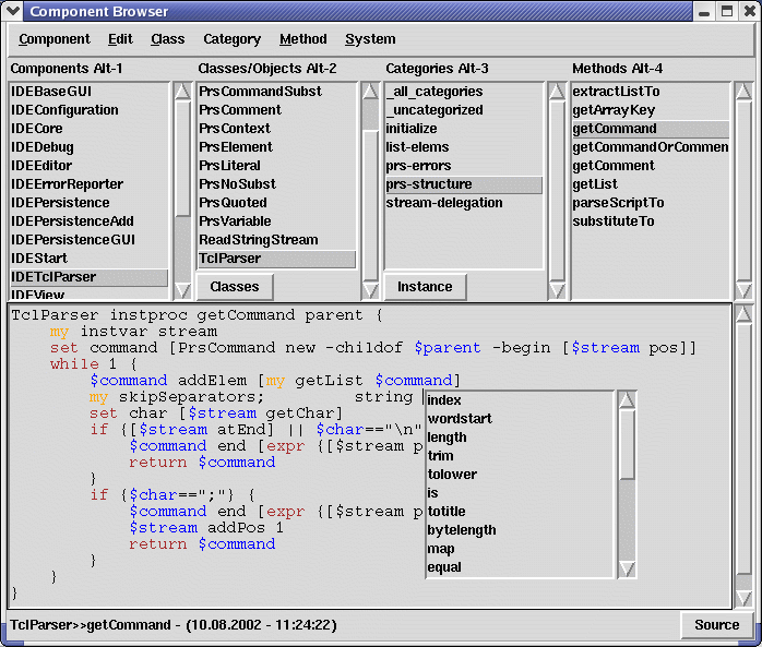 http://www.xdobry.de/xotclIDE/compbrowser.png